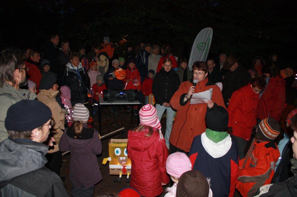 Lampionumzug in Brinckmansdorf