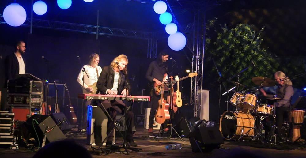Wenzel und Band im Klostergarten Rostock 2018