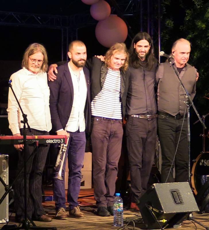Wenzel und Band im Klostergarten Rostock zur OSTSEE - RAD - KLASSIK 2018