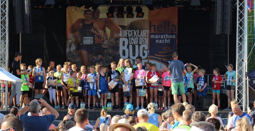Schülerlauf der Rostocker Marathon-Nacht 2019